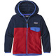 Patagonia Micro D Snap-T Jas Kinderen rood/blauw